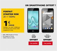 sfr un forfait mobile 224 1 et un smartphone offert pour