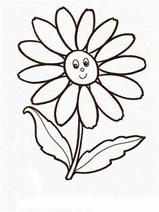 Ausmalbilder Blumen Chamomile Flower Coloring Pages And Print