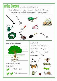 gardening for kids worksheets in the garden worksheet free esl printable worksheets made by teachers
