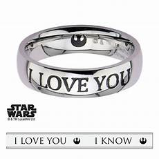 authentic star wars i love you i know ring special