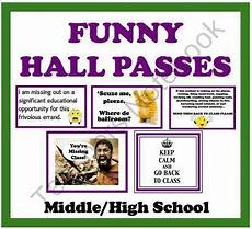 Meme Bathroom Passes by Passes For Middle High School Students Product