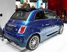 Fiat 500 Cabrio Farben - abarth colors
