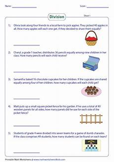 division word problems worksheets 3rd grade 11404 division word problems worksheets