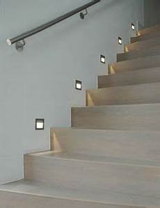 led recessed wall step light staircase lighting