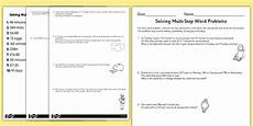word problems worksheets ks3 11067 two step maths word problems differentiated worksheet years 3 6