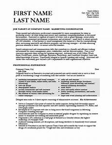 marketing coordinator resume template premium resume sles exle