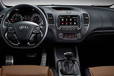 Kia Cerato Interior 2017 Kia Cerato Sedan Facelift Officially Revealed Drive