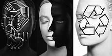 Karya Unik Lukisan Ilusi Dari Wajah Hitam Putih