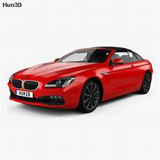 bmw 6er f12 tuning bmw 6 series f12 convertible 2015 3d model humster3d