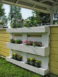 Gartendeko Blumenregal Aus Holzpallette Zum Selbermachen