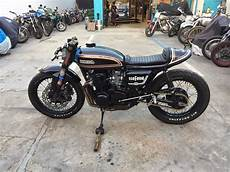 Honda 550 Four Cafe Racer For Sale 1976 honda cb550 four cafe racer auction custom cafe