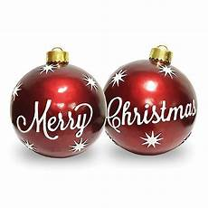 national tree company 174 26 inch merry christmas ornaments of 2 bed bath beyond