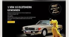 Auto Gewinnspiel Futterhaus 10 Oldtimer Bj 1987 Mercedes Sl