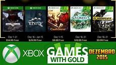 Malvorlagen Landschaften Gratis Xbox One Jogos Gr 193 Tis Xbox Live Gold De Dezembro 2015 Xbox 360