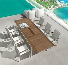 tavoli per esterni tavolo da pranzo allungabile per esterno idfdesign