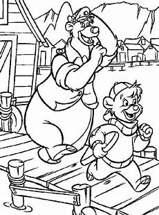 talespin coloring pages for kids