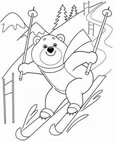 free winter sports coloring pages 17836 dessins gratuits 224 colorier coloriage ski 224 imprimer