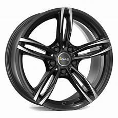 avus racing ac mb3 felgen black polished schwarz