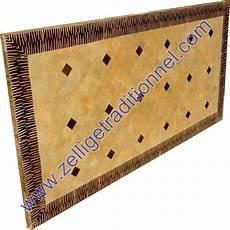 table rectangulaire en mosaique marocaine traditionnel