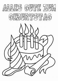 Malvorlage Geburtstag Zum Ausdrucken Ausmalbilder Geburtstag 20 Ausmalbilder Kinder