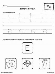 letter e reading worksheets 24118 letter e review worksheet myteachingstation