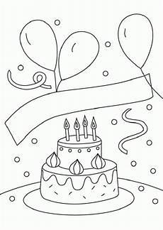 ausmalbilder zum geburtstag ausmalbilder geburtstag 03 jpg 595 215 841 happy birthsday