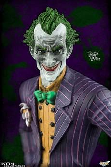 batman arkham asylum statue arkham city the joker