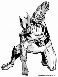 Mewarnai Gambar Wolverine Mewarnai Gambar