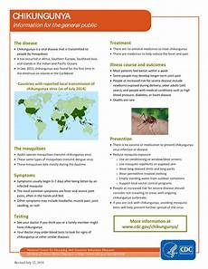 chikungunya fact sheet carpha poster university hospital of the west indies