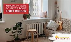 popular paint colors to make a room look bigger houston