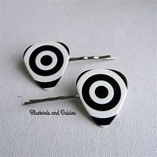 guitar pick target black and white guitar hair grips by bluebirdsanddaisies hair grips black and white