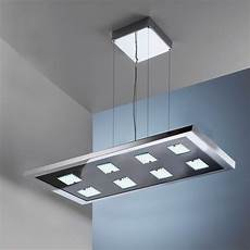 design cubic led pendelleuchte touch dimmer 8 x 4w