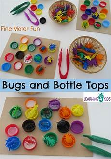 motor skills worksheets easy 20658 bugs and bottle tops learning 4