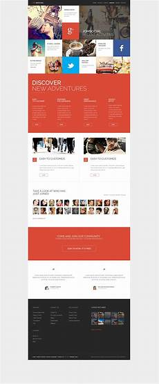 one website design option this basically one page but you scroll down it s kind of the new