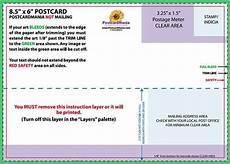 usps postcard design guidelines usps postcard guidelines template cards design templates