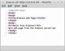 basic shield arduino web server