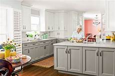 Grey Kitchen Base Cabinets by After Graceful Canvas A Kitchen S Uncluttered Look