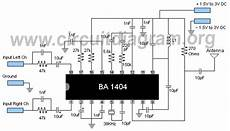 Fm Transmitter Circuit Diagram Schematic by Fm Stereo Transmitter Circuit Diagram