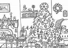 Malvorlagen Theme Dekorationen Weihnachten Malvorlagen F 252 R Erwachsene