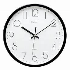 Morden Wall Clock Ticking Wall Clock by Plumeet 12 Inch Non Ticking Silent Wall Clock With Modern