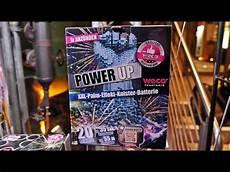 Lidl Feuerwerk Silvester 2018 Neuheit Power Up Batterie