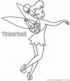 40 astonishing tinkerbell coloring pages pdf image ideas