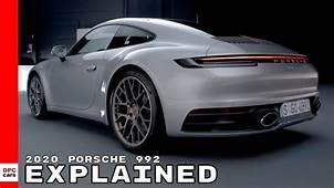 2020 Porsche 992 911 Explained  YouTube