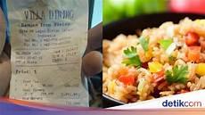 Makan Nasi Goreng Dan Es Teh Buatan Hotel Netizen Ini