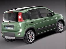 Fiat Panda 4x4 2013 3d Model Max Obj 3ds Fbx C4d Lwo Lw