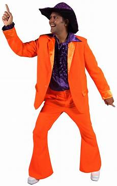 look disco homme 70 s mens costume orange disco d 233 guisement homme