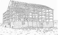 stall wird gebaut ausmalbild malvorlage bauernhof