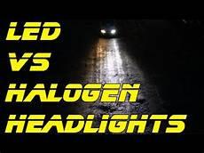 Led Headlights Install Review Led Vs Halogen Light