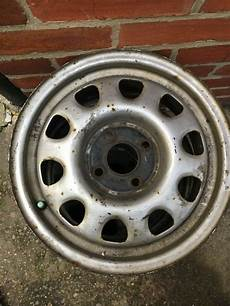 vw 14 inch steel wheel x2 can be sold separately in