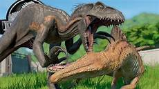 Jurassic World Malvorlagen Jogja Spinoraptor Vs Indoraptor Jurassic World Evolution